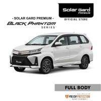 Kaca film Solar Gard Premium tipe Black Phantom toyota Avanza Xenia