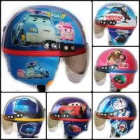 Helm Retro Anak / Engsel Plastik Karakter