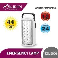 KIRIN EMERGENCY LAMP 44 LED (SOLID COLOUR) |KEL-2606