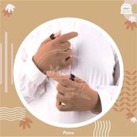 Sarung Tangan Muslimah Rayon - Hitam