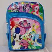 Tas Ransel Backpack motif anak Cowok Cewek Sekolah