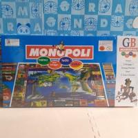 mainan monopoli 3-7pemain/ Mainan edukasi anak monopoly