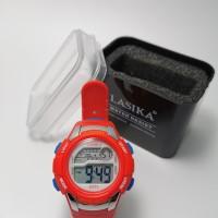 jam tangan digital anak sporty water resist anti air merk LASIKA