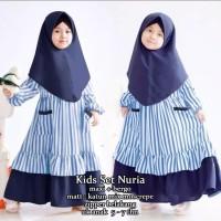 KIDS SET NURIA Busana Fashion Baju Muslim Anak Model Terbaru