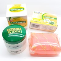 [Cream+Sabun]Temulawak Leviana Widya Original Bpom