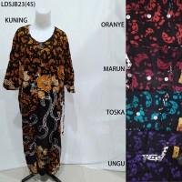 Long Dress Jumbo Baju Daster Pakaian Tidur Batik Pekalongan 23