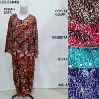 Long Dress Jumbo Baju Daster Pakaian Tidur Batik Pekalongan 24