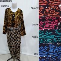 Long Dress Jumbo Baju Daster Pakaian Tidur Batik Pekalongan 22