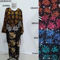 Long Dress Jumbo Baju Daster Pakaian Tidur Batik Pekalongan 26