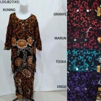 Long Dress Jumbo Baju Daster Pakaian Tidur Batik Pekalongan 27