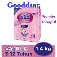 S-26 PROMISE 4 1400 gr / S26 S 26 Promise 1.4 kg Susu Bayi Tahap 4
