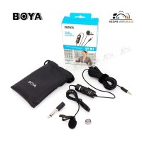 Lavalier MICROPHONE BOYA BY-M1 For Smartphone and DSLR CAMERA