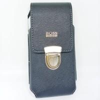 Dompet sarung hp pinggang single slot vertikal ukuran 6.5in - BOSS