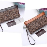 Bonia Easy Bag #822 Uk '21.5x3x11 Bahan Waterproof Combi Soft Leather