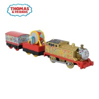 Thomas & Friend TrackMaster Motorized Engine (Golden Thomas) - Mainan