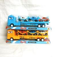 Mainan Mobil Truck Trailer Angkut Mobil