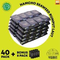 Rumput Laut Berbumbu Korea (Seasoned Seaweed) 40+8 Pack - BPOM & HALAL