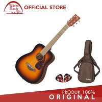 Yamaha Gitar Mini Ukuran 3/4 FG Junior JR-2 JR2 JR 2 -TBS +case &2pick