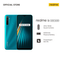 realme 5i 4/64GB [5000mAh Battery, Quad Camera, Snapdragon 665 AIE