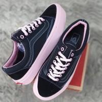 Sepatu wanita vans oldskool/sneakers terlaris