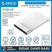 ORICO Enclosure Transparent USB3.0 2.5 inch HDD SSD - 2129U3