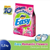 Attack Easy Romantic Flowers Detergent Bubuk 1200gr