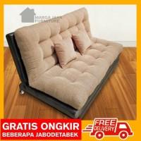 Sofa bed Minimalis Platinum kursi tamu sofabed