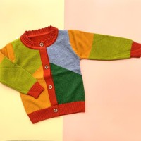 Baju Sweater Rajut Cardigan Atasan Anak Laki Laki Import Real Pict 3