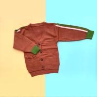 Baju Sweater Rajut Cardigan Atasan Anak Laki Laki Import Real Picture