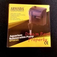 Hanging Filter Aquarium Submersible Pump Akuarium Armada SP-503A 503