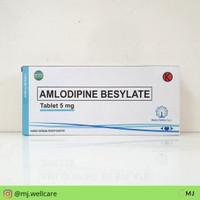 Amlodipine Besylate 5 mg 30s