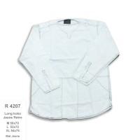 R4207 Kemeja Panjang Pria Long Koko Jeans Retro