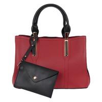 Handbag Bellezza 17434-38 Red