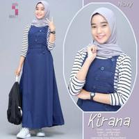 Kirana Stelan Overall (+inner) / Overall Anak 12-14tahun / Baju Muslim