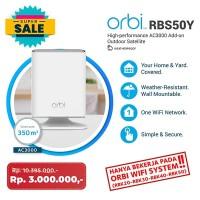 Netgear Orbi RBS50Y WiFi Mesh Outdoor Satellite / extender AC3000