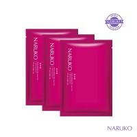 Naruko Rose & BOTANIC HA Aqua Cubic Hydrating Mask EX 3 Pcs