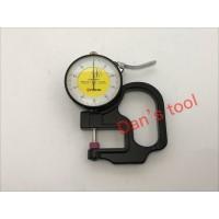 Dial Thickness Gauge 0 - 10 mm / Alat Ukur Ketebalan