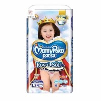 MamyPoko Pants Royal Soft L-34 Girl