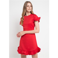 Dress Wanita Edition Ladies ED70 Red