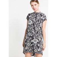 Dress Wanita EDITION Oriental Floral Ed11 BLACK FLORAL