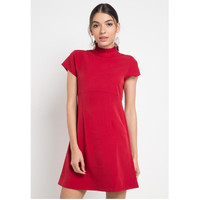 Dress Wanita EDITION ED67 Short Sleeveless RED