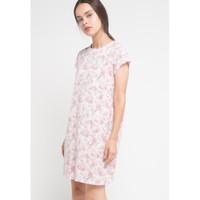 Dress Wanita EDITION ED15 Sleeveless Satin PINK