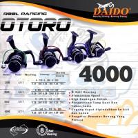 Reel Pancing DAIDO OTORO 4000, Reel Spinning, Reel Laut