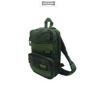 Authentic Body Bag Black Camo / Waist Bag / Bum Bag / Tas Selempang