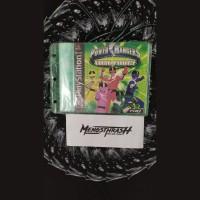 kaset game power ranger time force playstation 1