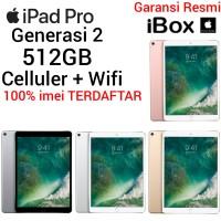 Apple iPad Pro 2 512GB Garansi Resmi iBox CELLULER WIFI Kartu Sim