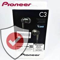 Pioneer SE-C3T Alumite Material Pure Deep Bass In-Ear Earphone Headset