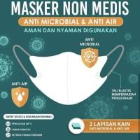 Masker Kain Sritex Anti Microbial Anti Air Original