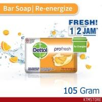 Sabun Mandi Dettol sabun Batang re-energize 105 gr bar soap