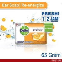 Sabun Mandi Dettol sabun Batang re-energize 65 gr bar soap